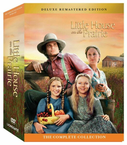 Little House on the Prairie: Complete Series Deluxe Remastered Edition 48 Discs