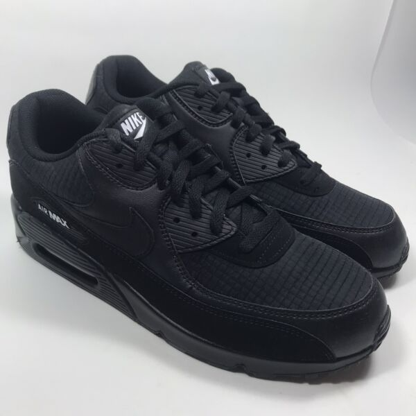 NIKE Men's Air Max 90 Essential Quilted  AJ1285 019 Black/White Size 13