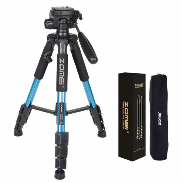ZOMEI Professional Aluminium Tripod monopodamp;Ball Head Flexible for DSLR Camera