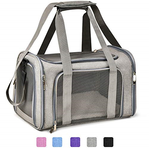 Henkelion Cat Carriers Dog Carrier Pet Carrier for Small Medium Cats Dogs up to $29.99