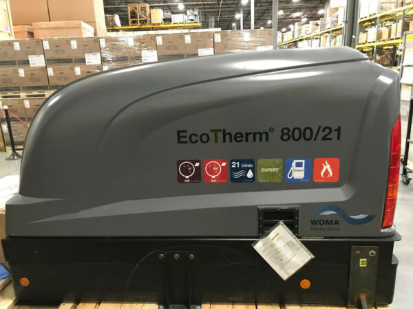 WOMA EcoTherm 800 High Pressure Water Jetter - 11600 PSI5.5 GPM Refurbished