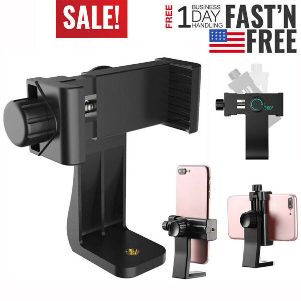Tripod Adapter Cell Phone Holder Mount Adapter for Universal Smartphone iPhone