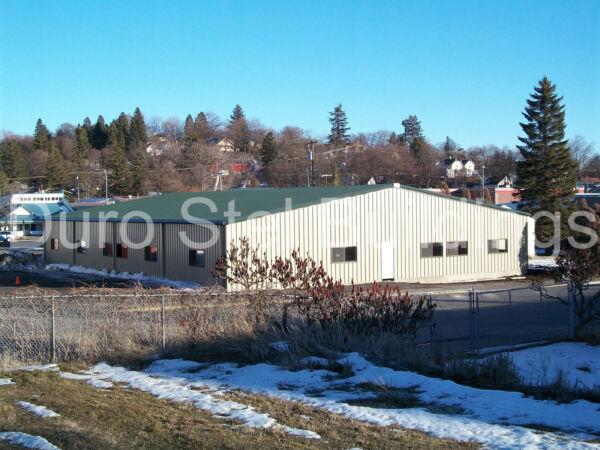 DuroBEAM Steel 60x120x16 Metal Building Made To Order Industrial Park Fit DiRECT
