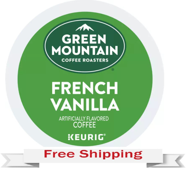 Keurig Green Mountain French Vanilla Coffee K cups 24 Count