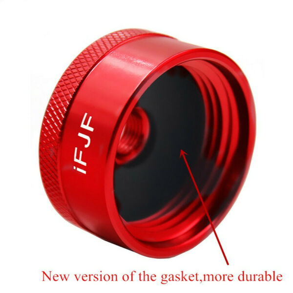 For Honda Generator Extended Run Gas Cap Red Adapter for EU1000i EU20i 1 4quot;NPT