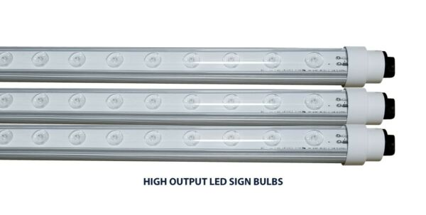 LED HIGH OUTPUT SIGN BULBS R17D DOUBLE SIDED SIGNAGE LIGHTING F108 F117 F120