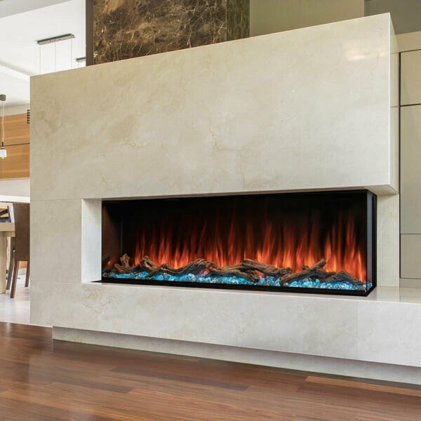 Modern Flames Landscape Series Pro MultiView 3 Sided Electric Fireplace 44 Inch
