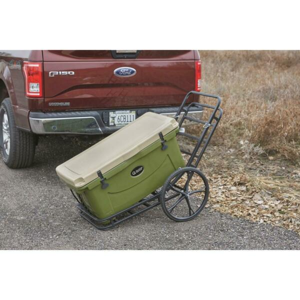 Hitch Mount Cargo Carrier Steel Converts to Cart 2quot; Receiver Rack Hauler 500 lbs $169.90