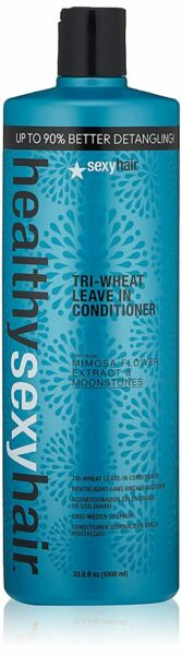 Healthy Sexy Hair Tri-Wheat Leave In Conditioner 33.8 oz