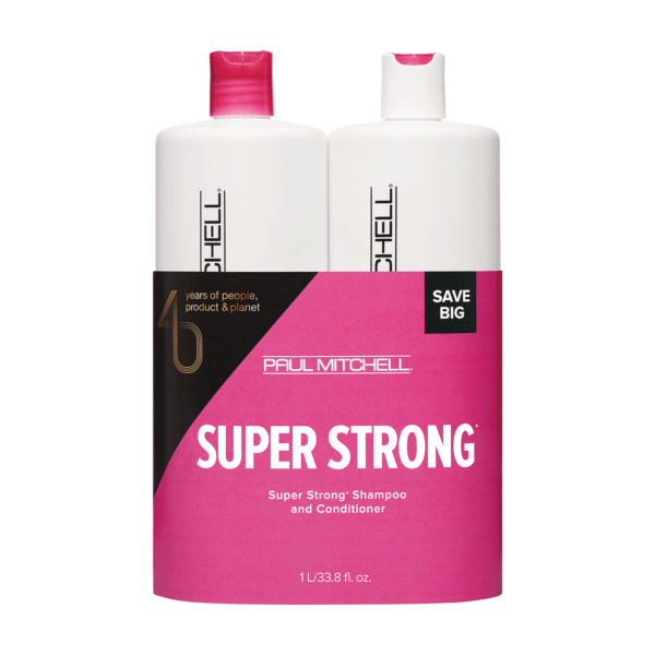 Paul Mitchell Super Strong Shampoo And Conditioner Duo Set 33.8oz