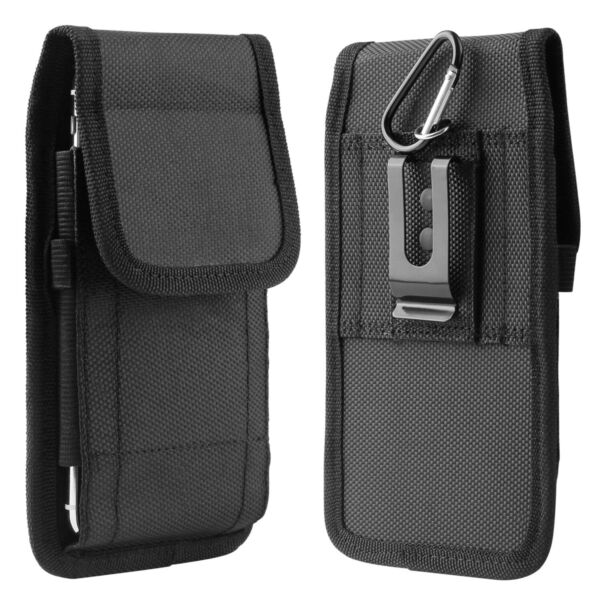 Vertical Cell Phone Holster Pouch Wallet Case With Belt Clip For iPhone Samsung $8.59