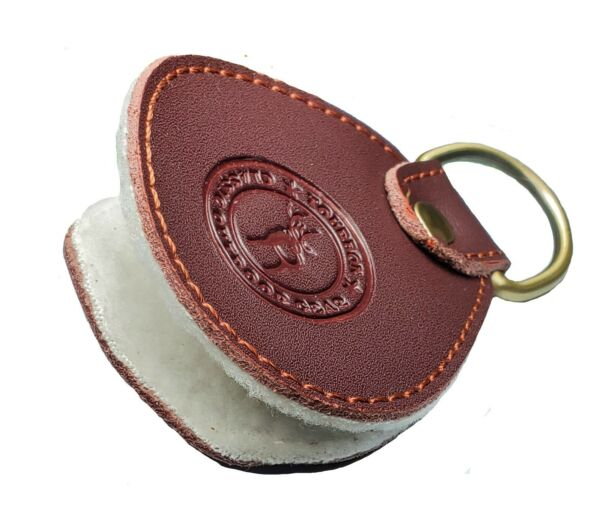 TOURBON CLASSIC OUTDOOR GEAR LEATHER FOB FLY LINE DRESSING APPLICATOR $4.28