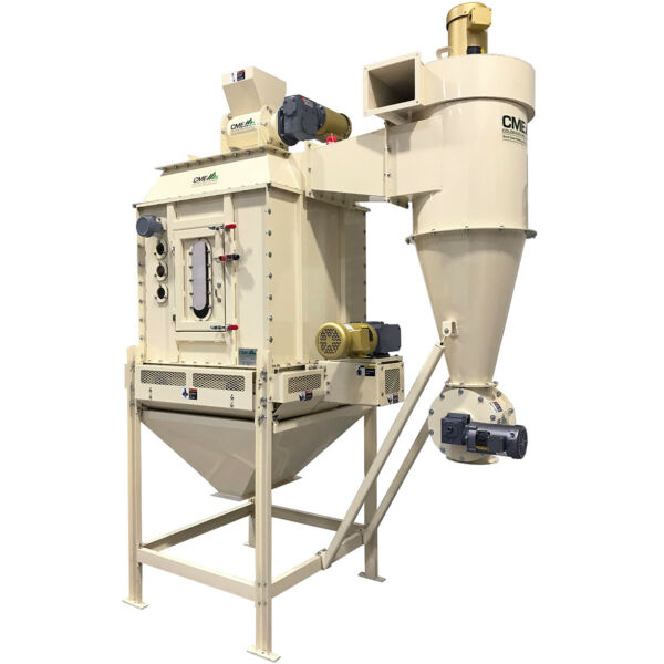 NEW CME C4 Counterflow Pellet Cooler Feed Fertilizer Wood Blower Airlock Extra $16900.00