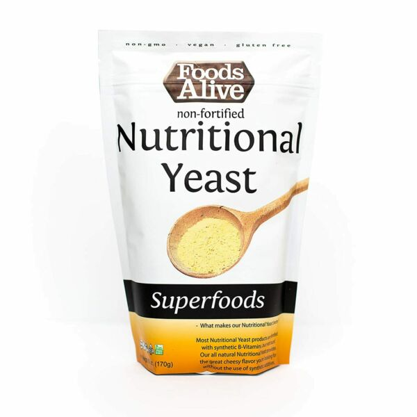 Nutritional Yeast Flakes Non Fortified Fiber Based Protein Vegan Cheese Diet