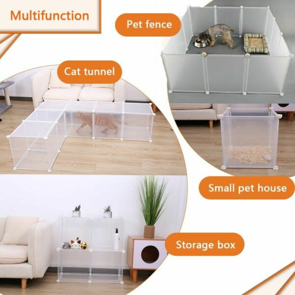 30Inch Panels Tall Dog Playpen Large Crate Fence Pet Play Pen Exercise Pen Cage