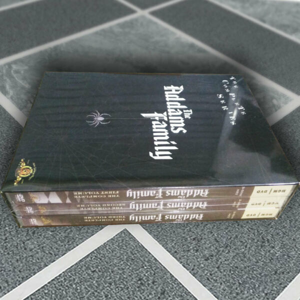 The Addams Family Complete Series DVD 2007 Fast shipping US Seller