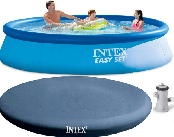 Brand NEW Above Ground Swimming Pool+Filter Pump+Lightweight Round Cover $1,199.95