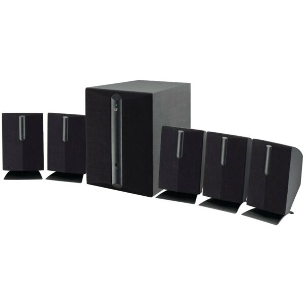 GPX HT050B 5.1-Channel Home Theater Speaker System