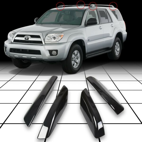 Roof Rack Rail End Cover Shell Replacement For Toyota 4Runner N210 2003 2009 $25.90