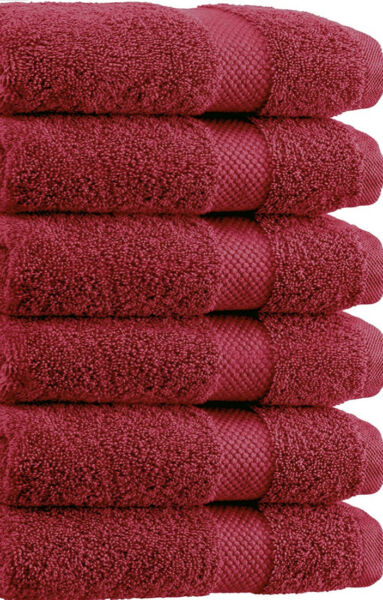 SPRINGFIELD LINEN Premium 100% Cotton Soft Bath Towels 27quot;X54quot; SET OF 6 Pieces $24.99