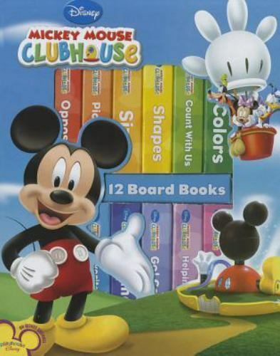 Disney Junior Mickey Mouse Clubhouse - My First Library Board Book Block 12-Book