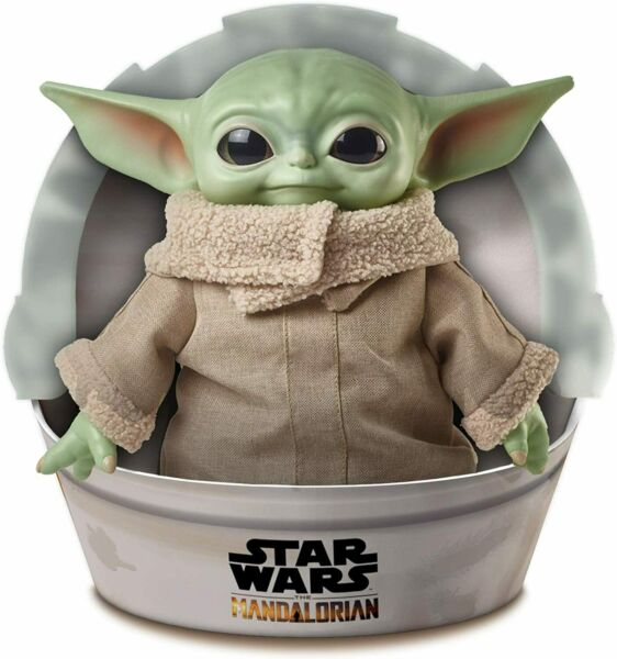 Star Wars: The Mandalorian 11' The Child Plush Baby Yoda Toy $34.95