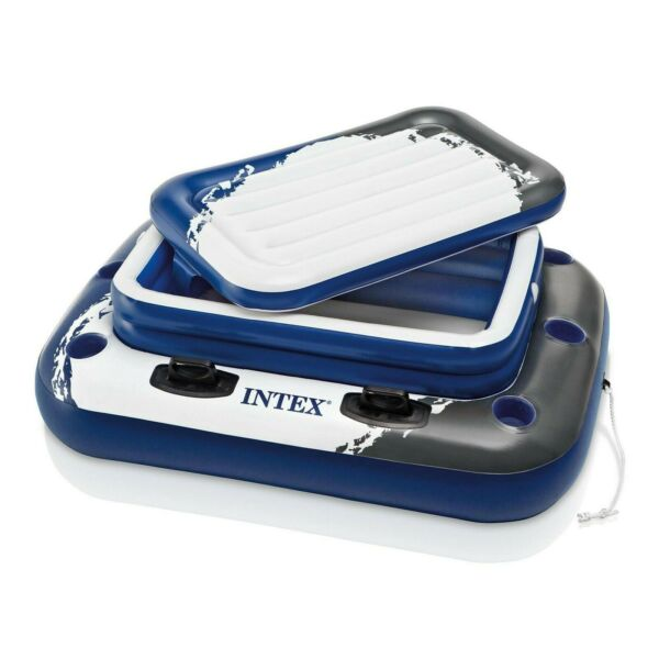 Intex/58821EP Inflatable Mega Chill II 72 Can Beverage Cooler Float With Lid