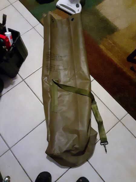 Military Netting Storage Bag camoflage screening support system bag.