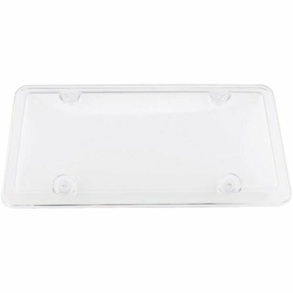 CUSTOM 92520 CUSTOM COVERS CLEAR TRANSPARENT LICENSE PLATE PROTECTOR $8.75