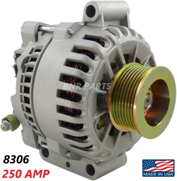 250 AMP 8306 Alternator Ford Excursion E Series F Series 6.0 NEW High Output HD $126.95