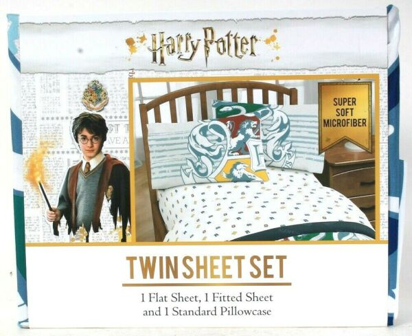Jay Franco & Sons Inc Harry Potter Super Soft Microfiber Poly Twin Sheet Set