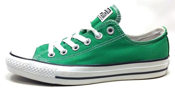 Converse Adult Unisex All Star Lo Skate Shoes Amazon Green Mens 5 / Womens 7