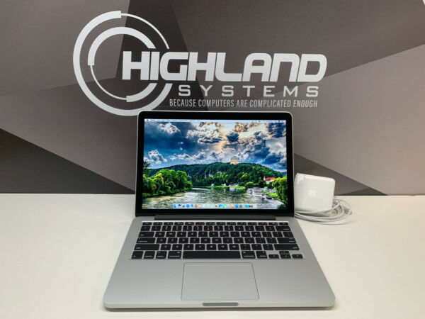 MACBOOK PRO 13 RETINA CORE i7 1TB SSD 16GB RAM WARRANTY OS 2015