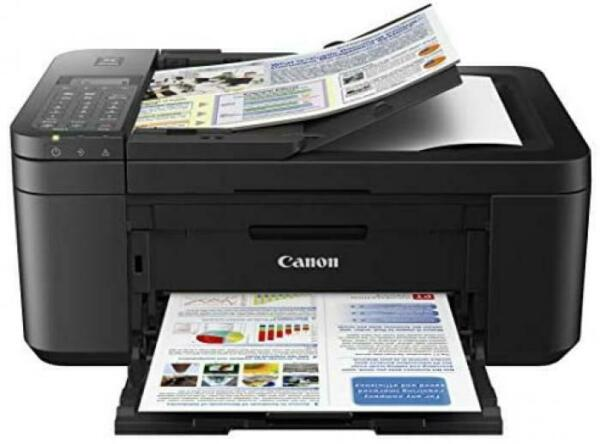 Canon PIXMA TR4520 Wireless All in One Photo Printer with Mobile Printing, Blac