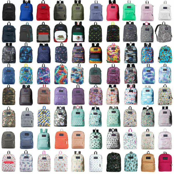 New With Tags JanSport T501 SuperBreak 100% Authentic Book Bag School Backpack $26.90