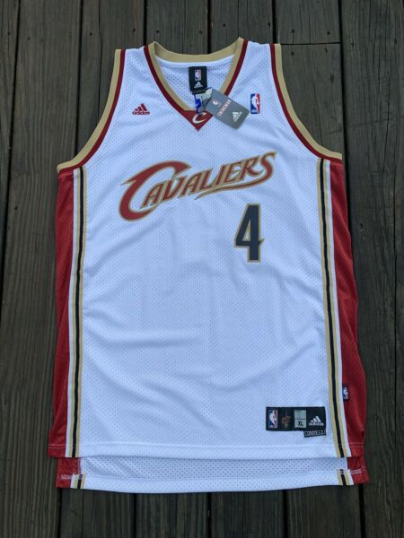 NWT BEN WALLACE CLEVELAND CAVALIERS AUTHENTIC ADIDAS SWINGMAN SEWN JERSEY XL
