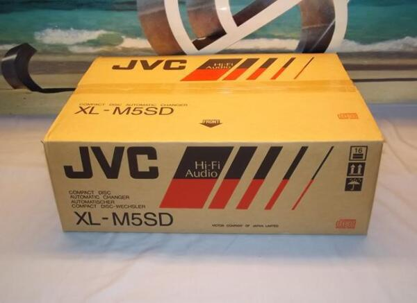 JVC XL-M5SD CD Player Compact Disc Automatic Changer with Optical OUT  New $147.72