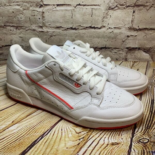 adidas Continental 80 Mens White Classic Sneaker Size 9