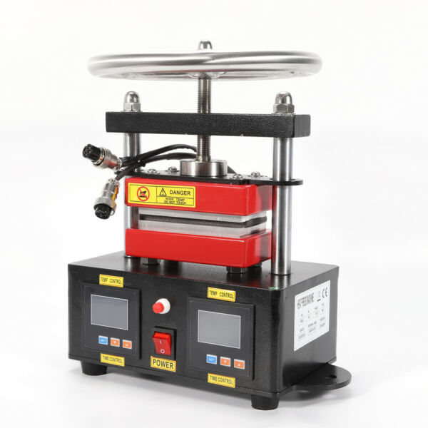 Hand Crank Rosin Press Duel Heating Plates Transfer Machine 2.4