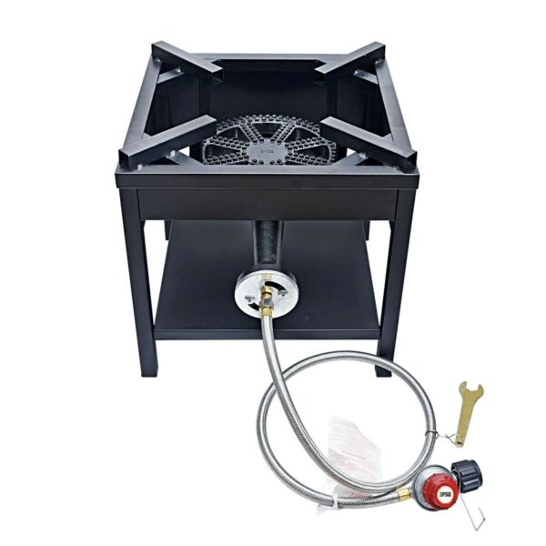 200000BTU Outdoor Camping Burner Stove High Pressure Propane Gas Burner Stove