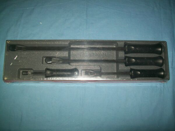NEW Snap on™ Black 8quot; 12quot; 18quot; 24quot; Long STRIKing Prybar SET SPBS704A SEALed