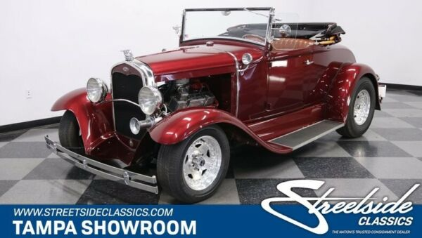 1931 Ford Model A Roadster ALL STEEL BODY CRATE 350 V8 FRONT DISC GORGEOUS PAINT