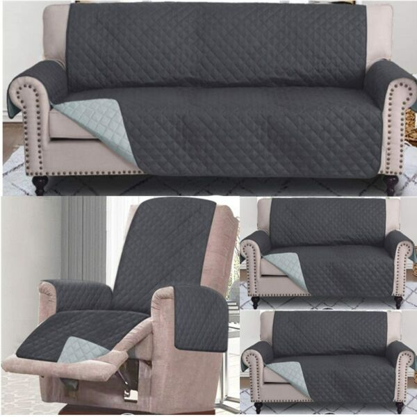 1 2 3 Seat Sofa Cover Couch Loveseat Slipcover Furniture Protector Pet Dog Mat # $25.98