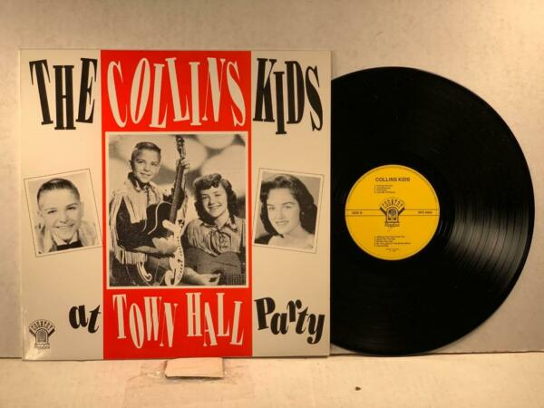 THE COLLINS KIDS Country Routes RFD 9002 AT TOWN HALL PARTY VG NM LISTEN
