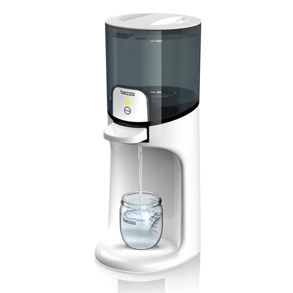 Baby Brezza Instant Warmer Instantly Dispenses Warm Water at Perfect Baby Bott $68.95