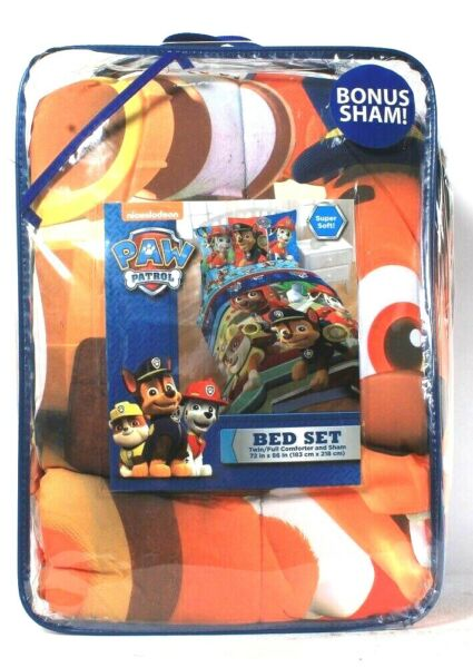 Franco Manufacturing Co Nickelodeon Paw Patrol Soft TwinFull Bed Set