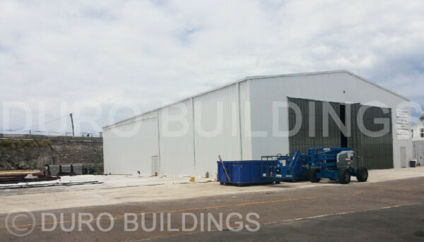 DuroBEAM Steel 100'x273'x20' Metal Red Iron I-beam Building Made To Order DiRECT
