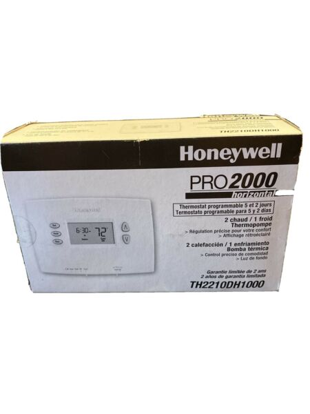 Honeywell PRO 2000 Programmable Heat Pump Thermostat TH2210DH1000 $39.00