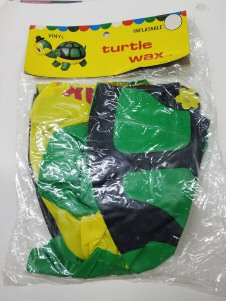 Turtle Wax Inflatable Green Merchandise Small Floatation Blow Up Promo Advert