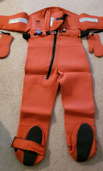 Viking Immersion Survival Suit Viking PS2008 Size 140 200Cm Universal $109.99
